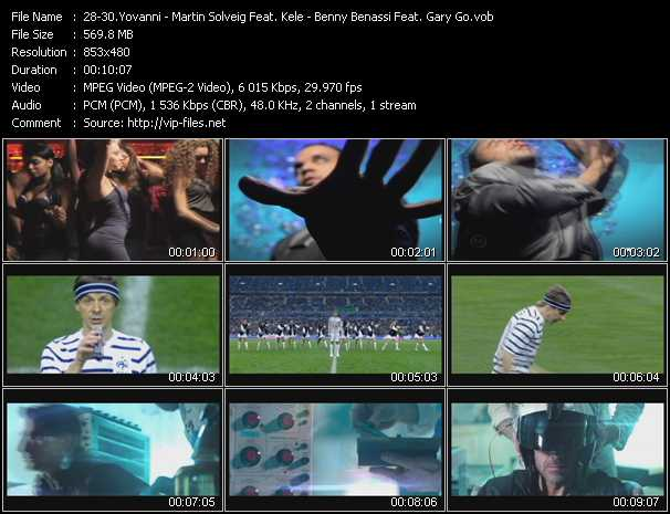 Yovanni - Martin Solveig Feat. Kele - Benny Benassi Feat. Gary Go video screenshot