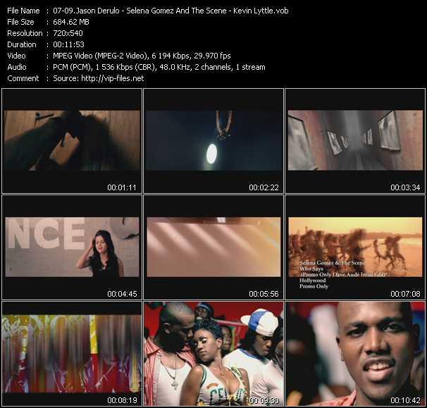 Jason Derulo - Selena Gomez And The Scene - Kevin Lyttle video screenshot