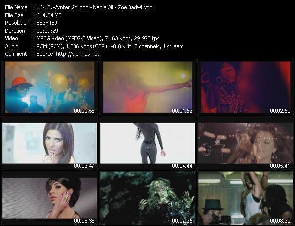 Wynter Gordon - Nadia Ali - Zoe Badwi video screenshot