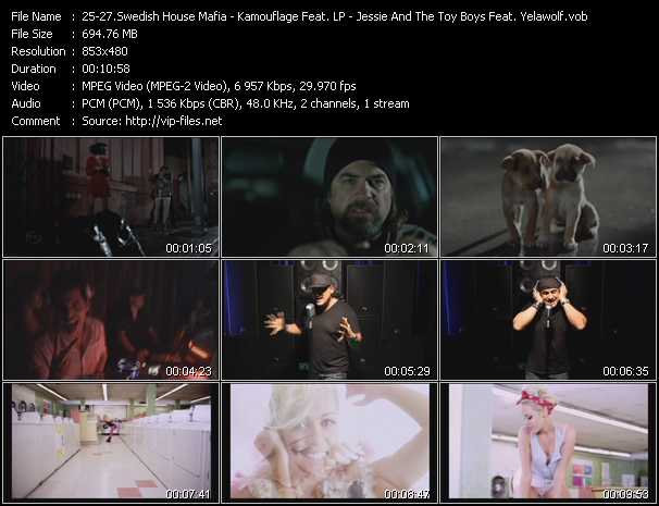 Swedish House Mafia - Kamouflage Feat. LP - Jessie And The Toy Boys Feat. Yelawolf video screenshot