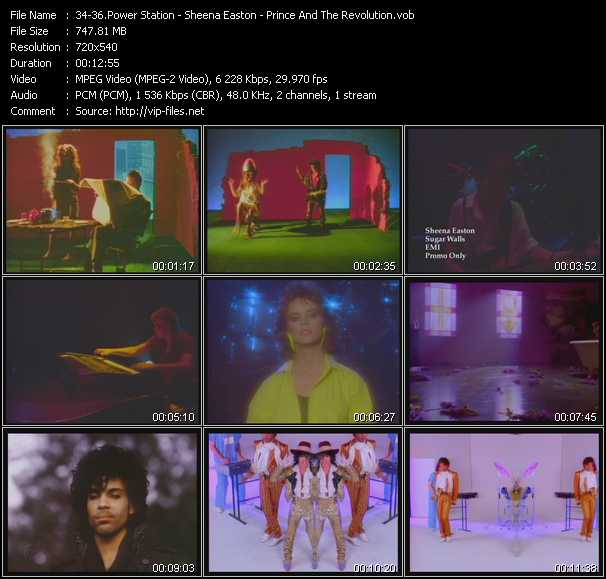 Power Station - Sheena Easton - Prince And The Revolution video screenshot