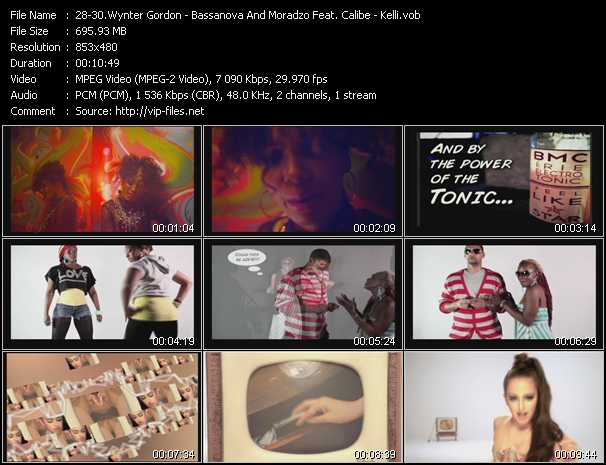Wynter Gordon - Bassanova And Moradzo Feat. Calibe - Kelli video screenshot