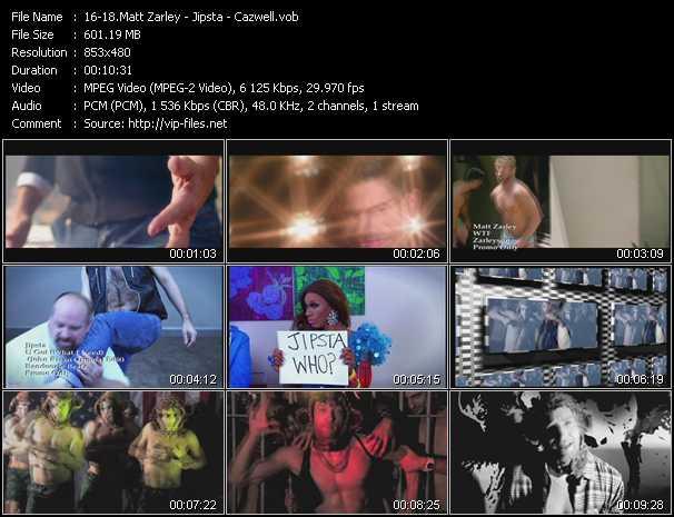 Matt Zarley - Jipsta - Cazwell video screenshot