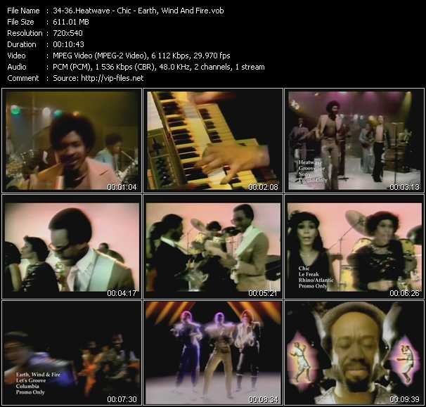 Heatwave - Chic - Earth, Wind And Fire video screenshot