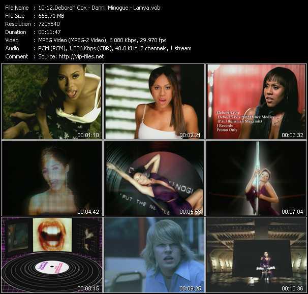 Deborah Cox - Dannii Minogue - Lamya video screenshot