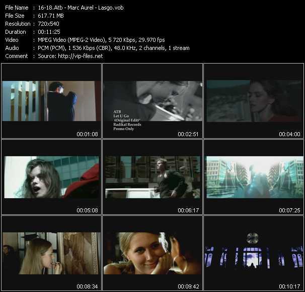 Atb - Marc Aurel - Lasgo video screenshot