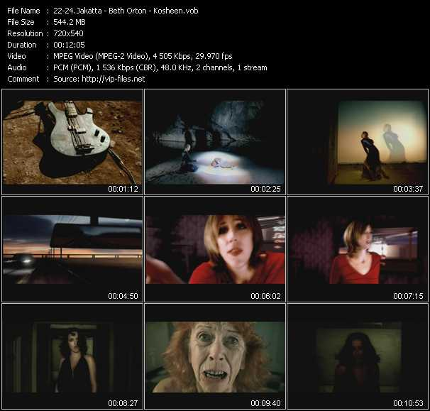Jakatta - Beth Orton - Kosheen video screenshot