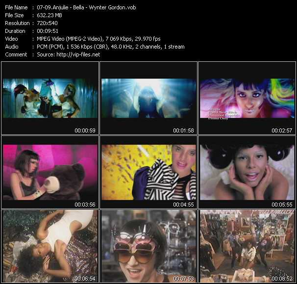 Anjulie - Bella - Wynter Gordon video screenshot