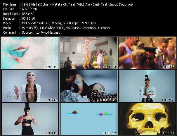 Meital Dohan - Natalia Kills Feat. Will.I.Am - Blush Feat. Snoop Dogg video screenshot
