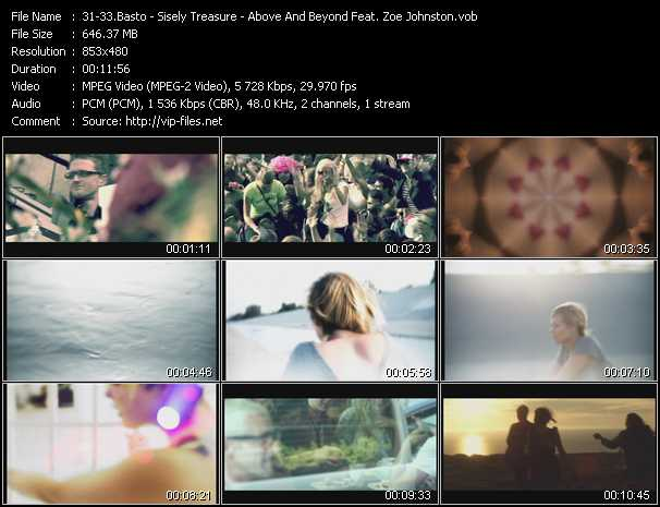 Basto! - Sisely Treasure - Above And Beyond Feat. Zoe Johnston video screenshot