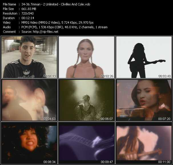 Tinman - 2 Unlimited - Clivilles And Cole video screenshot