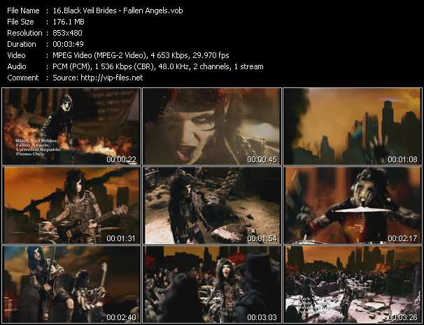 Black Veil Brides video screenshot