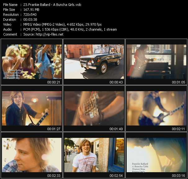Frankie Ballard video screenshot