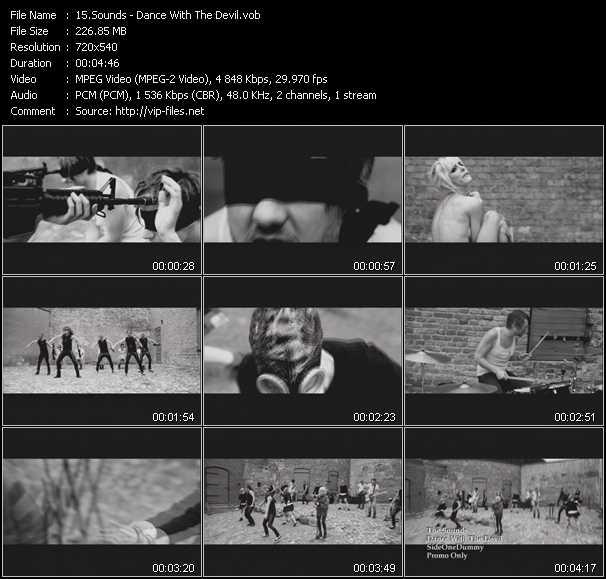 Sounds video screenshot