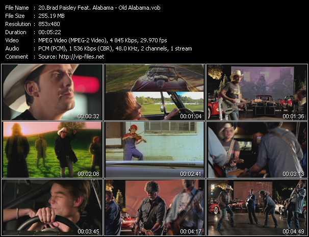 Brad Paisley Feat. Alabama video screenshot