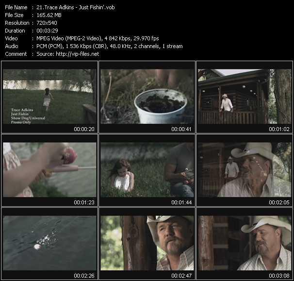 Trace Adkins video screenshot