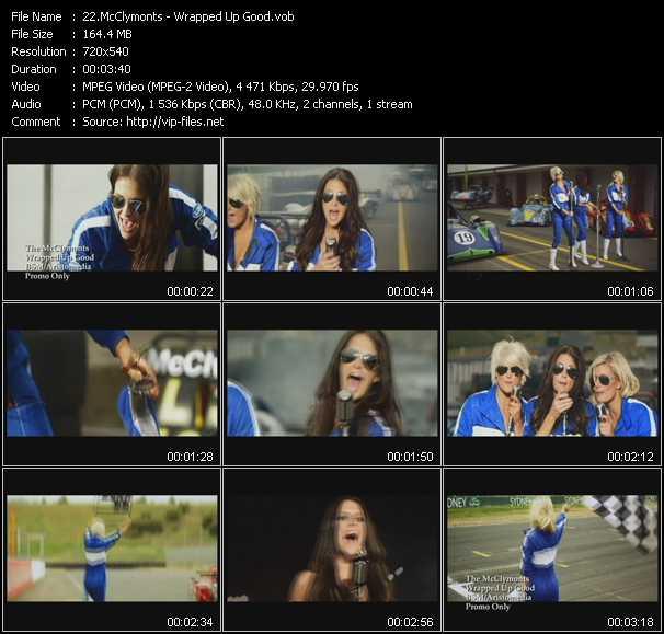 McClymonts video screenshot