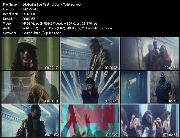 Gorilla Zoe Feat. Lil' Jon video screenshot