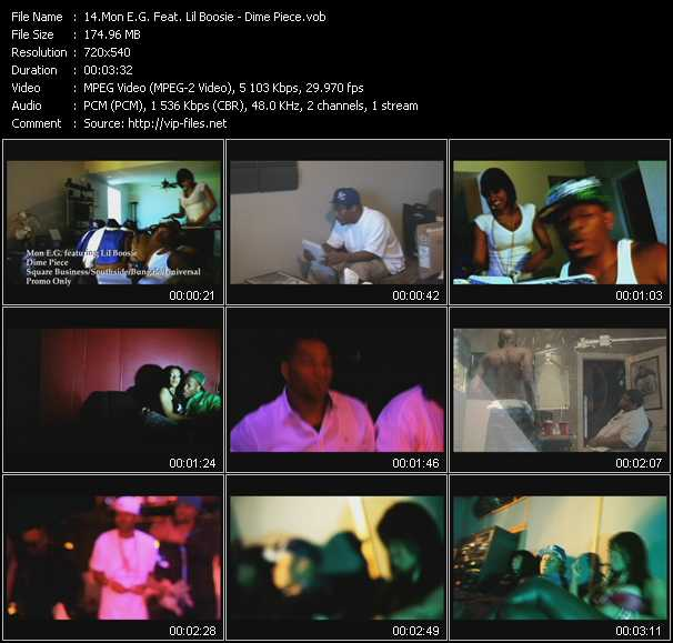 Mon E.G. Feat. Lil' Boosie video screenshot