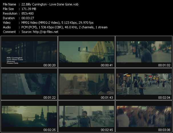 Billy Currington video screenshot