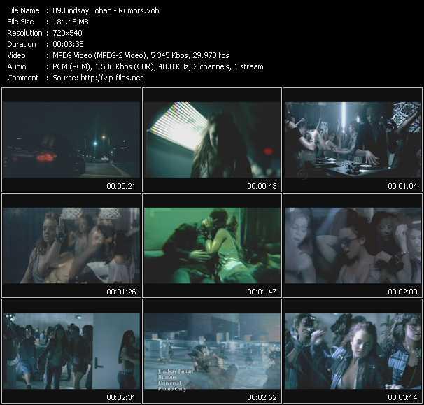 video Rumors screen