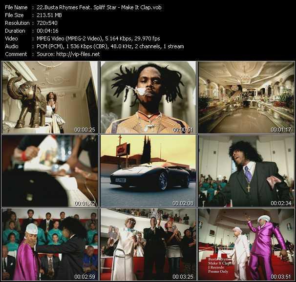 Busta Rhymes Feat. Spliff Star video screenshot