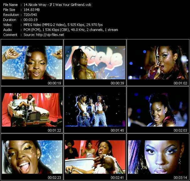 Nicole Wray video screenshot