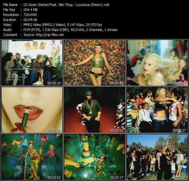 video Luxurious (Remix) screen
