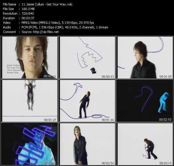 Jamie Cullum video screenshot