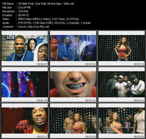 Nelly Feat. Paul Wall, Ali And Gipp video screenshot