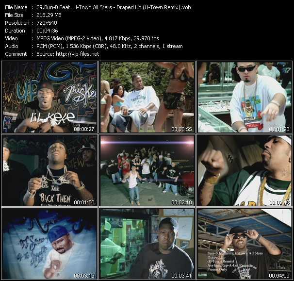 Bun-B Feat. H-Town All Stars video screenshot