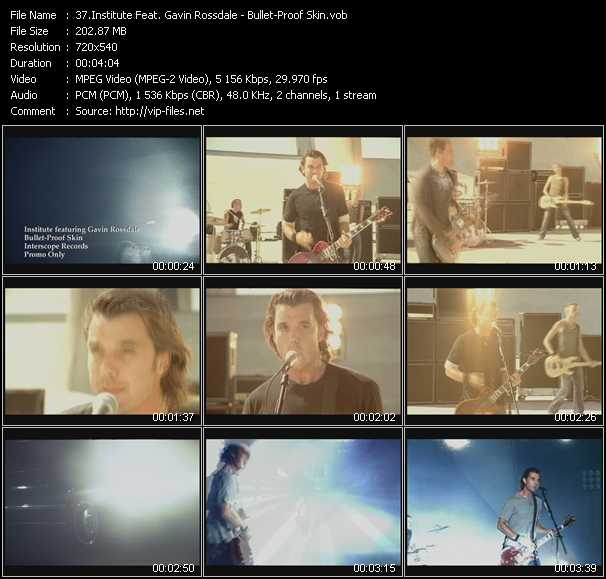 Institute Feat. Gavin Rossdale video screenshot