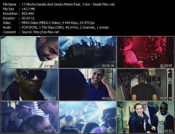 Mischa Daniels And Sandro Monte Feat. J-Son video screenshot