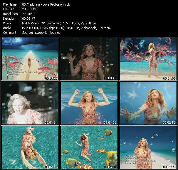 video Love Profusion screen