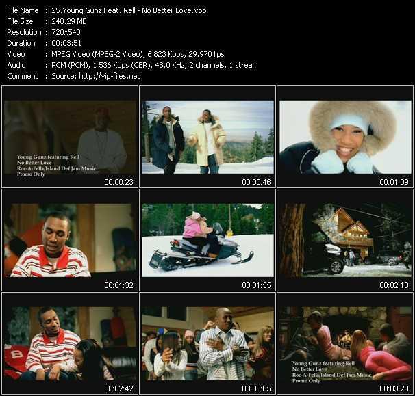 Young Gunz Feat. Rell video screenshot