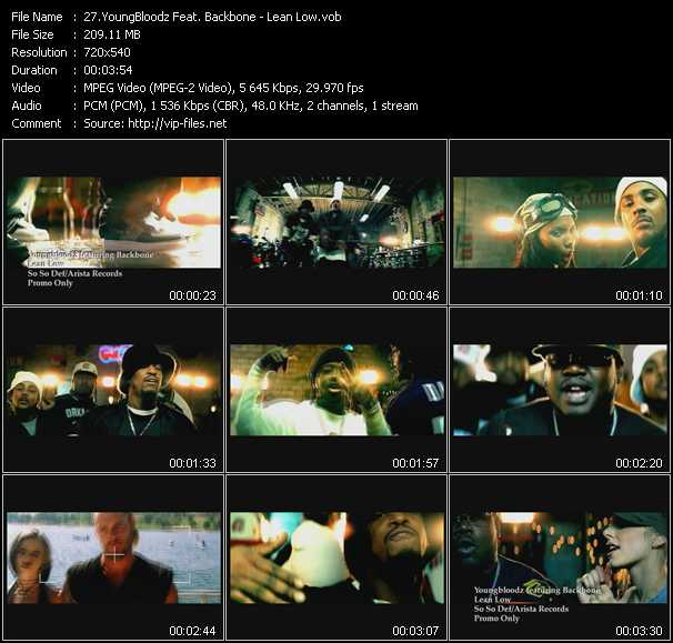 YoungBloodz Feat. Backbone video screenshot