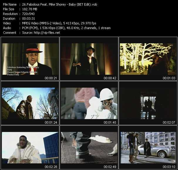 Fabolous Feat. Mike Shorey video screenshot