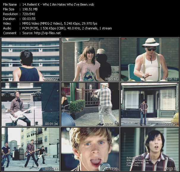 Relient K video screenshot
