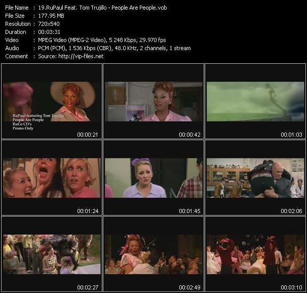 RuPaul Feat. Tom Trujillo video screenshot