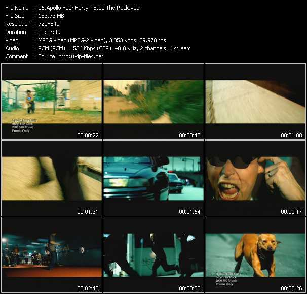 Apollo 440 (Apollo Four Forty) video screenshot