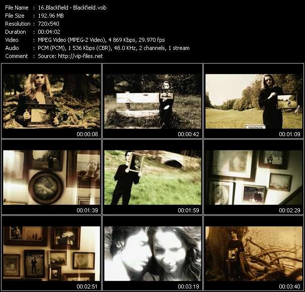 Blackfield video screenshot