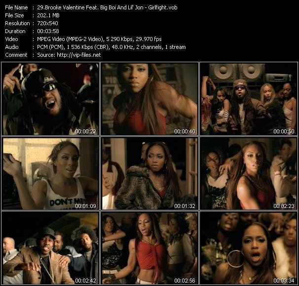 Brooke Valentine Feat. Big Boi And Lil' Jon video screenshot