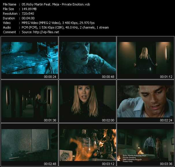 Ricky Martin Feat. Meja video screenshot
