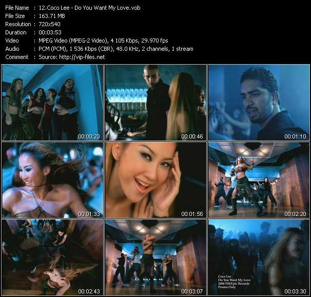 CoCo Lee video screenshot