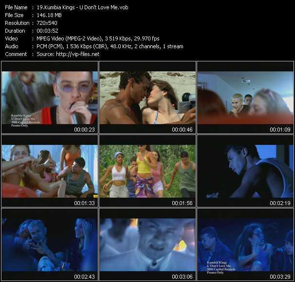 Kumbia Kings video screenshot