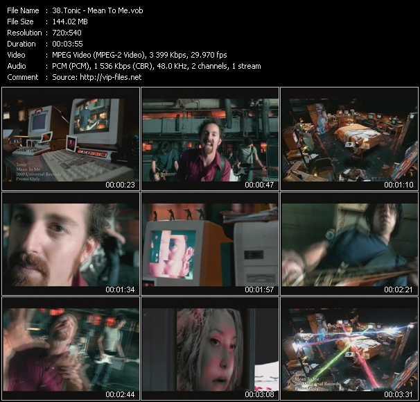 Tonic video screenshot