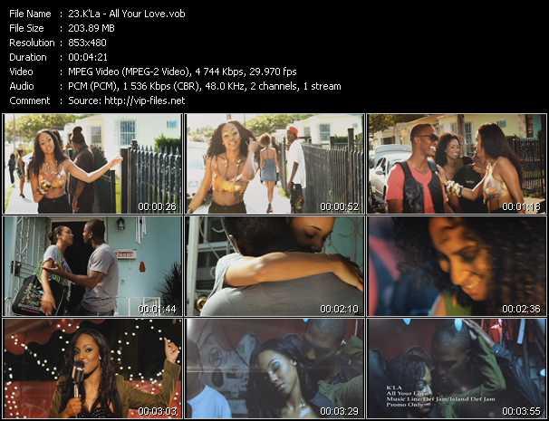 K'La video screenshot