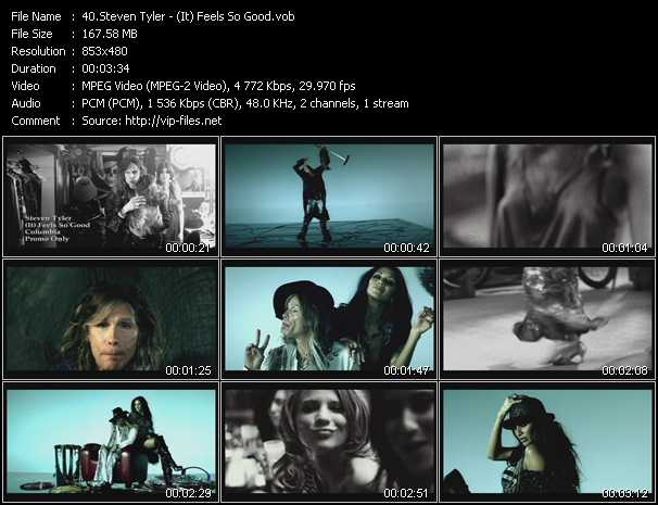 Steven Tyler video screenshot