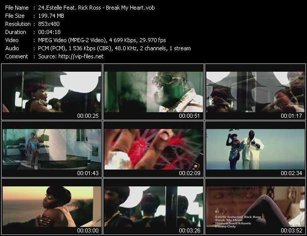 video Break My Heart screen