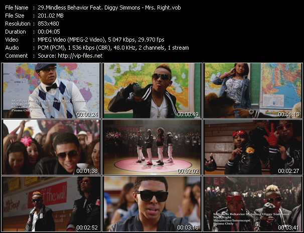 Mindless Behavior Feat. Diggy Simmons video screenshot